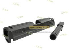 RA Marui HK.45 CNC Steel metal slide & Outer barrel set (Standard Edition)